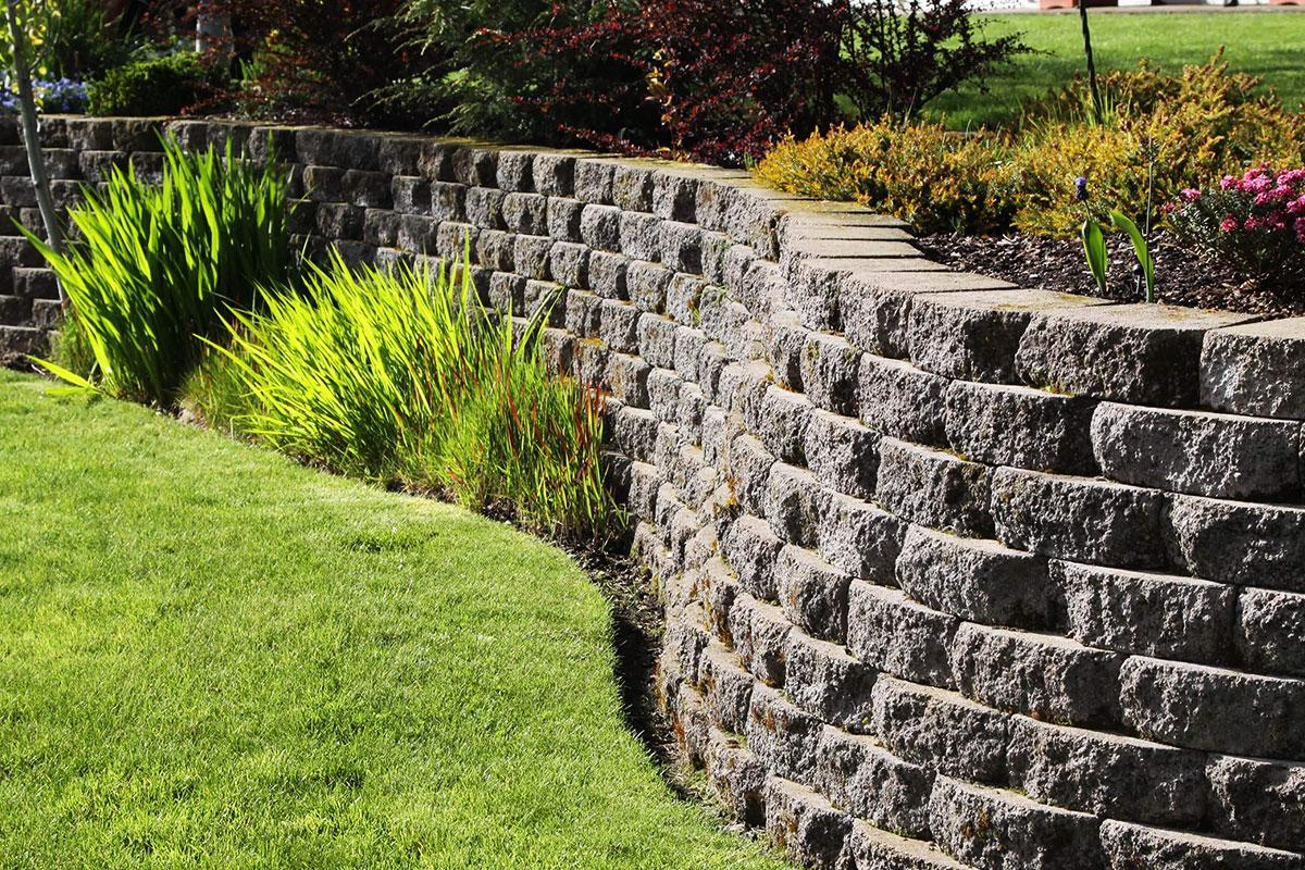 Garden Retaining Wall Orpington